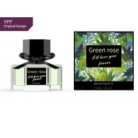 Best Eau De Toilette Perfume Garden Green Rose 30ML FEMALE Floral Fruity FOB wholesale