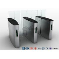 Cheap Building Access Control Waist Height Turnstiles Automatic With Polishing Surface for sale