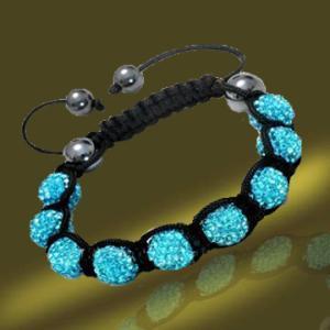 Best 2013 New Shamballa Bracelet Jewelry Shamballa Crystal Ball (BSL3067D-18CM) wholesale