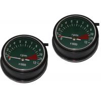 Best Copper Wire Motorcycle Speedometer Kit , ABS Motor Gauges For HONDA CG125 76 / 77 wholesale