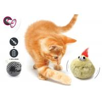 Best Electronic Auto Motion Bouncing Battery Operated Pet Toys With Plush Cover wholesale