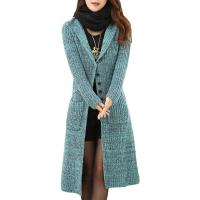 Best Melange Cable Knit Womens Long Cardigans Women'S Button Front Cardigan Sweaters wholesale