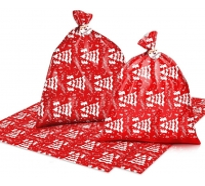 "Best 36X44"" 0.02mm Plastic Christmas Gift Sacks Pressure Resistance wholesale"