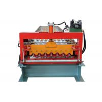 Best Fully Automatic Corrugated Sheet Making Machine , 13 Rows Corrugated Metal Roofing Machine wholesale