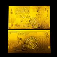 Best Gold currency notes / Gold Plated Banknotes For Wedding Decoration wholesale