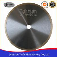 """Best 12"""" tiles cutting blade continuous rim blade, 2.2mm thickness, For Wet Cutting Hs Code 82023910 wholesale"""