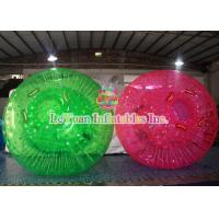 Best High Quality Inflatable Colorful Grass Body Zorb Ball ,  Knocker Ball Sports Games wholesale