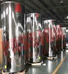 Best 1000L SUS304 Solar Hot Water Heater , Solar Powered Water Heater Heat Pipe Solar Collector wholesale