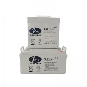 Best 12V 55Ah 20HR 65A Gel Sealed Lead Acid Battery 22kg Rechargeable 12 Gel Battery wholesale
