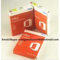 Best 32 / 64 Bit Office 2016 Pro Plus Retail For Global Area Full Functions wholesale