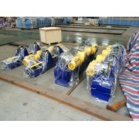 Best 5T Bolt Conventional pipe Welding Rotator Fixed Type With PU Wheels wholesale