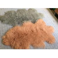 Best Home Decor Mongolian Lamb Fur Rug wholesale