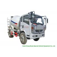 Best HOMAN 4x2 Mobile Concrete Mixer Truck For Transport With 4m3 Load Capacity wholesale