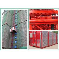 Quality 1000kg Capacity Construction Site Lift Hoisting Equipment , Industrial Elevators And Lifts wholesale