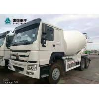 Best SINOTRUK HOWO 371hp Stock Concrete Mixer Truck 10 Wheels ZZ1257N3847A wholesale