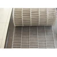 Cheap 1.8 Mm Thickness Flat Wire Mesh Belt SUS 304 With High Temperature Resistance for sale
