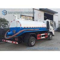 Quality FAC 4*2 2m3 Sewage Suction Tanker Truck With Vacuum Pump New Design Waste Water Clean Truck wholesale