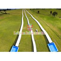 Best Mountain Outdoor Inflatable Water Slides With High - Tech Equipments wholesale