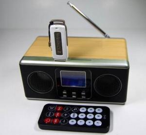 Best LCD display 2.0 computer speaker,  mobile speaker,  multimedia speaker with fm radio wholesale