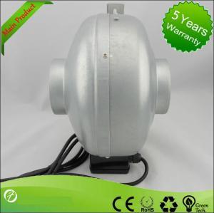 Best 8'' 220v EC Unique Waterproof IP67 Noiseless Radon Inline Duct Fan wholesale
