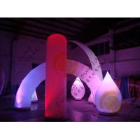 Best Advertising Inflatable Arch Balloon Led Lighting For Festival Decoration wholesale