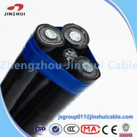 Cheap Professional Oyster Aluminum Triplex Cable , 0.6 / 1KV Underground Service for sale