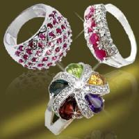 Best 925 Solid Silver CZ Ring (RSR3970) wholesale