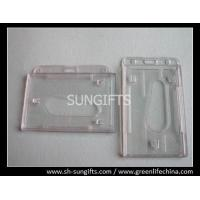 Best Frosted molded rigid plastic access card dispenser, clear hard card holder wholesale