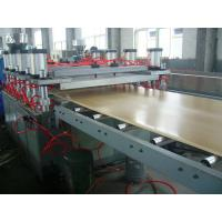 Ecological WPC Extrusion Machine , Wood Plastic Composite Production Line