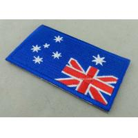 Best Heat Cut Custom Embroidered Badges , Professional Garment Accessories Custom Clothing Patches wholesale