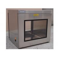 Best Hepa Filter H13 / H14 Static Cleanroom Pass Box / Cleanroom Pass Through Chambers wholesale
