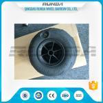 Best No Axle Pneumatic Wheelbarrow WheelsPuncture Resistant PVC 230mm*115mm wholesale
