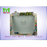 Best Advertising counter Top cardboard pos displays stands with 1 Tier wholesale