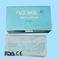 China Meidical surgical disposable 3 ply face on sale