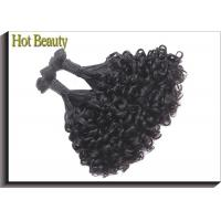 Buy cheap Unprocessed Funmi Human Raw Virgin Hair Extensions No Tangle No Shed Curly Hair from wholesalers