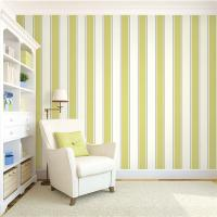 Cheap Top quality waterproof mould proof stripe design PVC vinyl wallpaper for sale