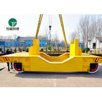 Best 25MT Anti-high Temperature Paper Making Industry Railway Die Plant Coil Transfer Wagon wholesale