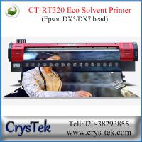 China CrysTek CT-RT320 inkjet printer with Epson dx5 or dx7  printhead, 1440dpi, vinly, flex, soft-flim printing on sale
