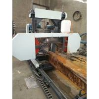 China Wood Cutting Saws Portable Horizontal Band Diesel Engine Portable Sawmill Popular In Fiji on sale