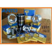 C9 Engine Liner Kit Fit For CAT 336D Excavator , Forged Engine Piston 197-9297 324-7380 265-1401
