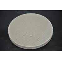 China Refractory Ceramic Gas Stove Plates Round Shape For Baking Bread SGS on sale