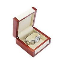 Best Luxury Bangle Watch Jewelry Wooden Box Tear Resistant With PU Leather Interior wholesale
