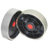 """6"""" Electroplated Diamond Grinding Wheel with Plastic Axis For lapidary polishing"""