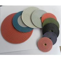 "Quality 5"" COM/IND GRANITE MARBLE WET DRY POLISHING 8 PAD SET wholesale"