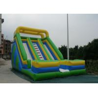 Best Custom Color Commercial Inflatable Slide Durable PVC Tarpaulin Materials wholesale