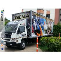 Best Popular Truck Mobile 7D Cinema System With 9 Black Leather Pneumstic Seats wholesale