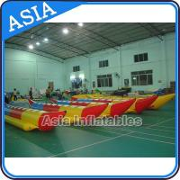 Quality Water Sleds Banana Inflatable Boats Heavy Duty For 6 Passengers Water Games wholesale