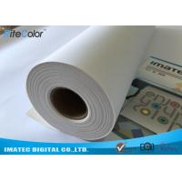 Best Waterproof 320gsm Inkjet Cotton Canvas Roll for Large Format Printers wholesale