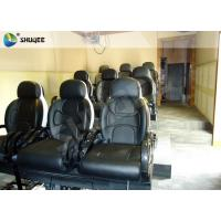 Best Black Luxury Seats 7d Simulator Cinema Motion Chair In Genuine Leather Material wholesale