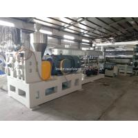 China Economic PP PS PE plastic Sheet Extrusion Line Integrated Design Large Thrust Bearing on sale